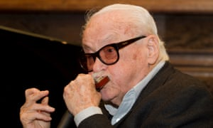 Toots Thielemans plays the harmonica at an event to celebrate his 90th birthday in La Hulpe, Belgium