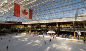 A skating rink in Canada's biggest mall – but where is it?