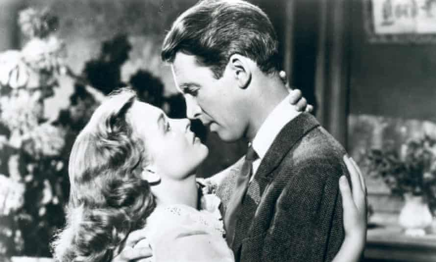 It's a Wonderful Life; you're a terrible person: Donna Reed and James Stewart.