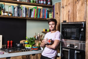 Tom Daley at home