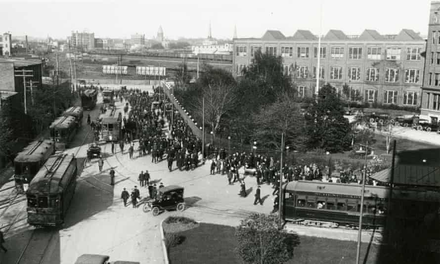 General Electric in Schenectady, NY 1920s