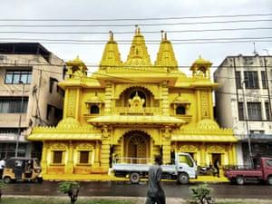 Baps Swaminarayan temple in Nairobi.