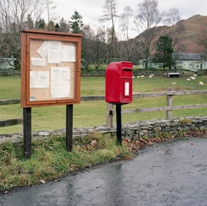 Photographs of post boxes in rural Lake District by photographer Tom White.