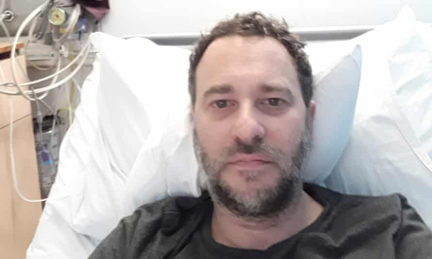 Behr in hospital in January last year