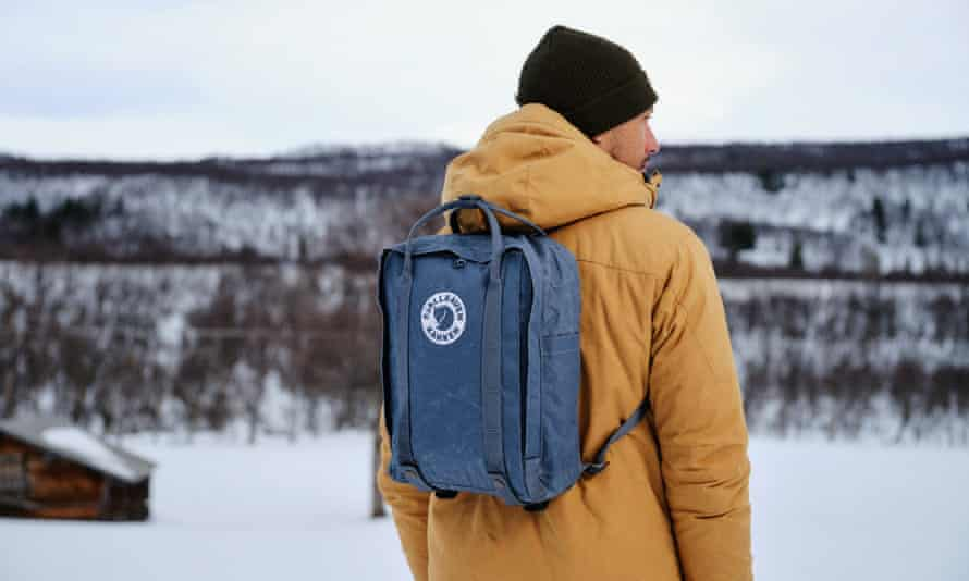 The new Tree-Kanken rucksack made from Pine Weave fabric by Fjällräven