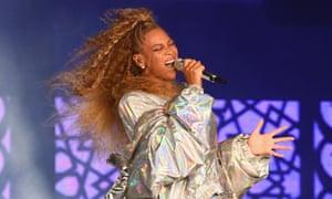 Beyoncé on tour