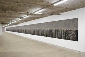 Richard Long's Peloponnese Line, 2017.