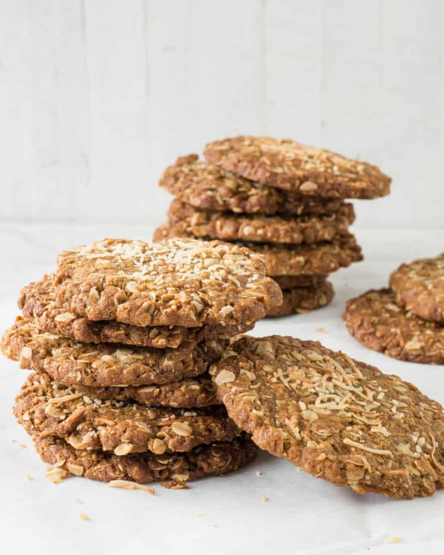 Flour and Stone's giant Anzac biscuits