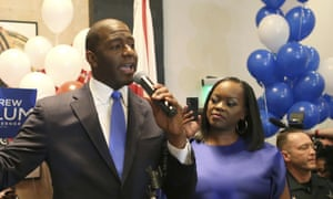 Andrew Gillum is Florida's first black nominee for governor.