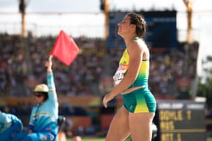 Taylor Doyle from Australia in the finals of the women's T38 long jump