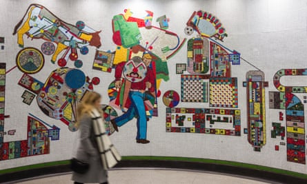 As the Arts Council officer responsible for art in public spaces, Alister Warman worked with Eduardo Paolozzi when he was producing mosaics for Tottenham Court Road station on the London Underground.