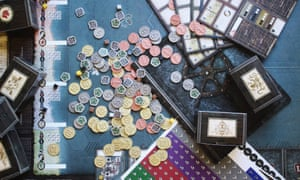 Seafall board game components