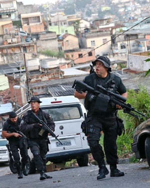 Both police officers and civilians have been injured in shootouts in Alemão.