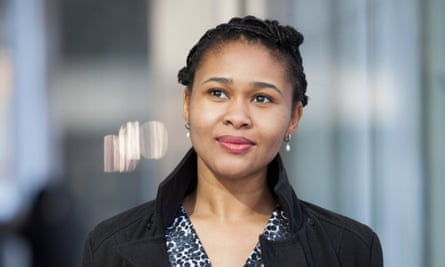 The Rolex Mentor and Protégé Arts Initiative 2014-2015, Literature Finalists Meeting.Chinelo Okparanta, Literature Finalist, in Midtown, New York.