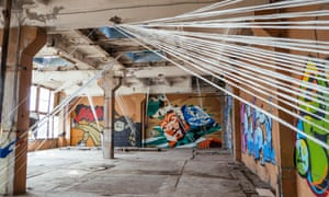 The Street Art Museum, a former factory, is the setting for Present Perfect Festival