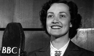 'Pickled tink!' … Kathleen Ferrier at the BBC.