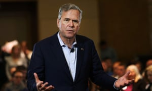 Jeb Bush was among the Republican rivals who had no idea how to deal with Bush.