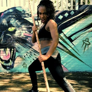 Martial arts expert Shania West.