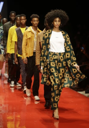 What we wear Tinie Tempah's capsule collection '7 days 'Till Lagos' played homage to his Nigerian roots, merging British style and African clothes in a complementary way.