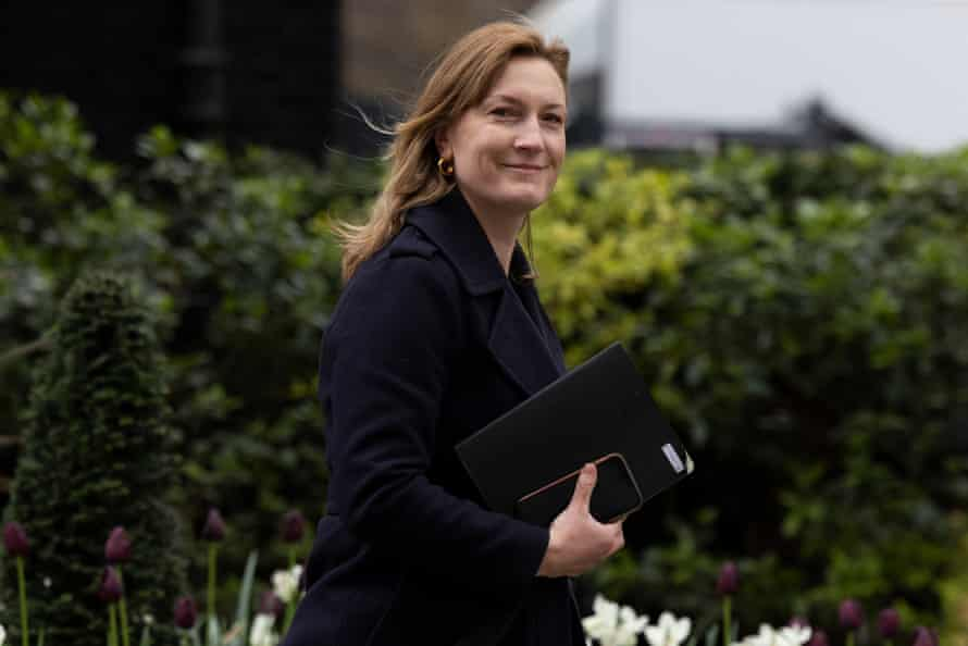 Allegra Stratton said people could join the Green party as a way of saving the planet - while also saying joining the Tories would help