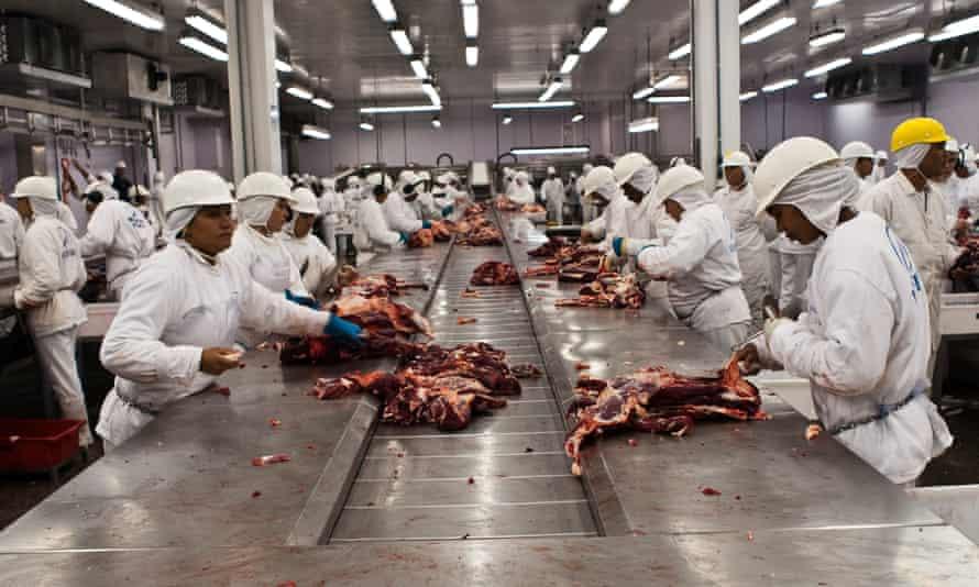 Slaughterhouse facility, Mato Grosso State, Brazil 1 April 2009