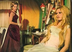 Honor Blackman, and Brigitte Bardot in Shalako, 1968