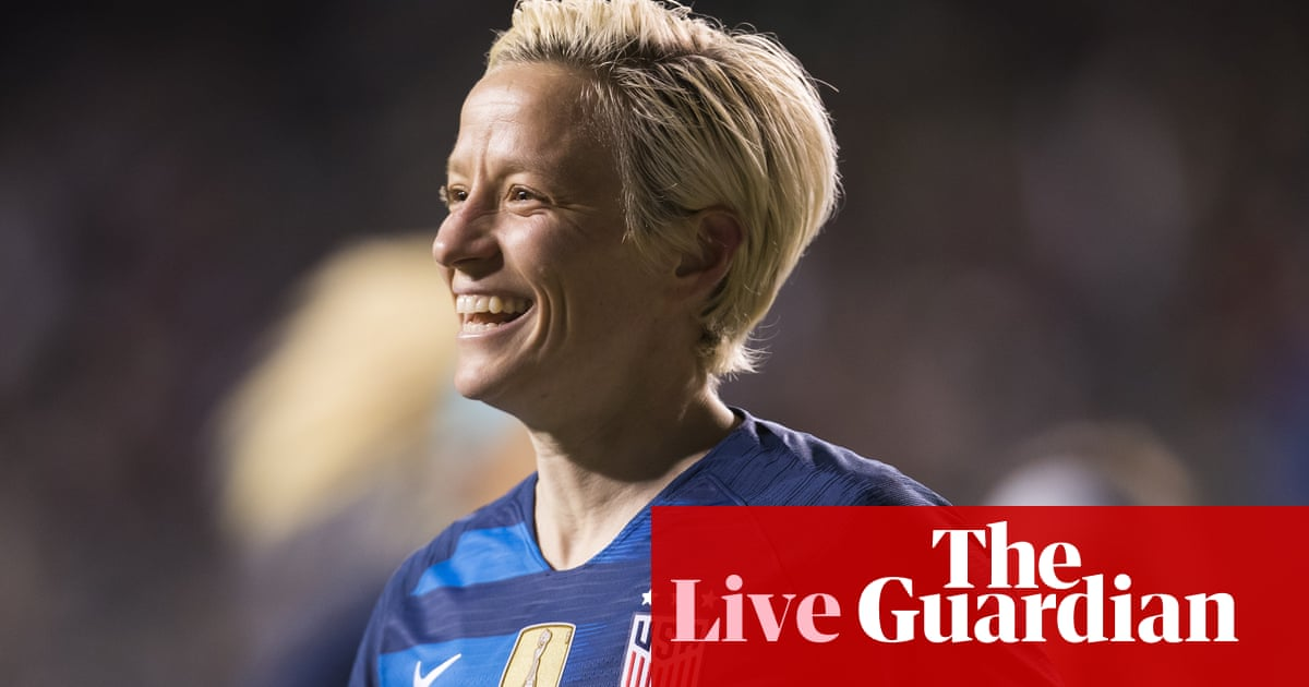 e656b7e23c6 USA 2-2 Japan: SheBelieves Cup – as it happened | Football | The ...
