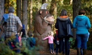 Gruffalo at Forestry Commission-managed Delamere Forest Park