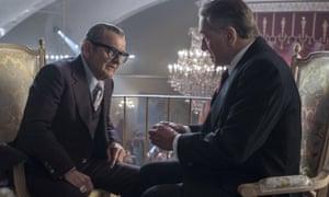 Joe Pesci and De Niro in The Irishman.