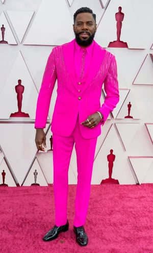 Coleman Domingo arrives at the 93rd Academy Awards at Union Station in Los Angeles