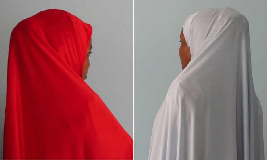 Two of the women who survived Boko Haram's attempts to have them carry out 'suicide missions'