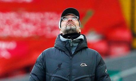 'Not good enough': Klopp laments Liverpool's sixth successive home defeat – video