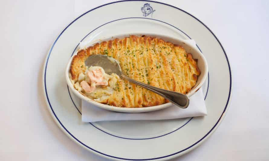 'Made by someone who understands the engineering of the dish': fish pie.