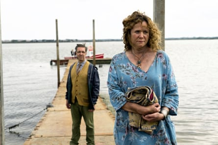 Meet the landlords … Emily Watson and Paddy Considine in The Third Day.
