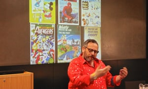 Gary Northfield talks about his early love for comics at the Guardian Education Centre Reading for pleasure conference 28 March 2019