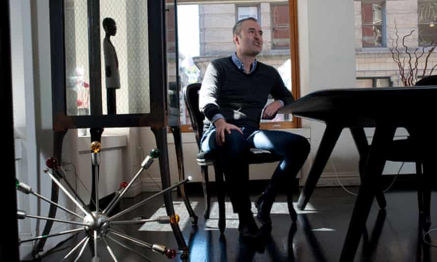 Nick Denton, editor of Gawker in New York