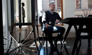 Nick Denton, editor of Gawker, in New York.