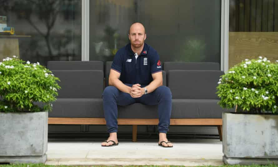 Jack Leach had to sit around in Colombo on Thursday, when day one of their scheduled two-day warm-up match was washed out.