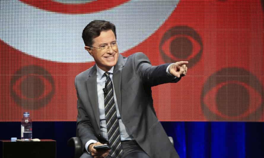 Stephen Colbert at the TCA Summer Press Tour.