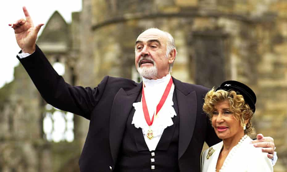 Sean Connery 'slipped away' in his sleep, says his widow, Micheline Roquebrune.