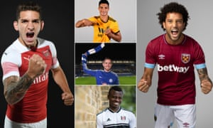 A selection of new faces set to adorn the Premier League this season.
