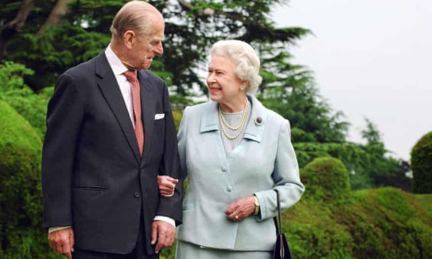 Stalwart supporter: with the Queen in 2007.