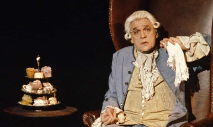 Amadeus at the National Theatre in 1980.