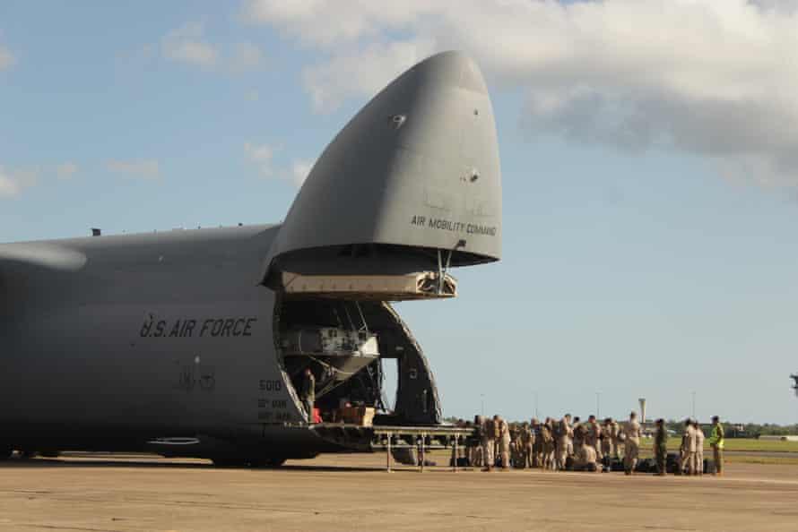 Darwin's Air Force Base