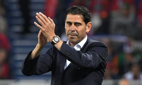 Fernando Hierro walks away from Spain after World Cup disappointment