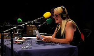 Feltz in the radio studio in 2015.