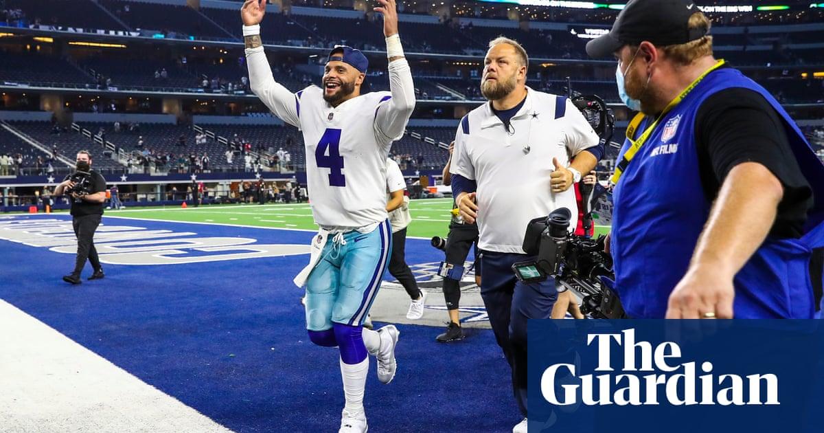 Dak Prescott completes jubilant homecoming as Cowboys thrash Eagles