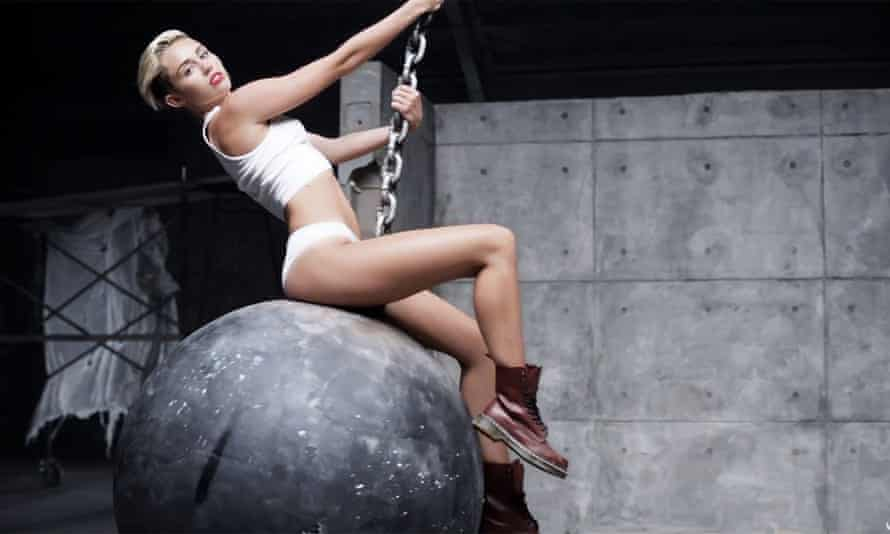 Miley Cyrus claimed that her raunchy Wrecking Ball video was empowering.