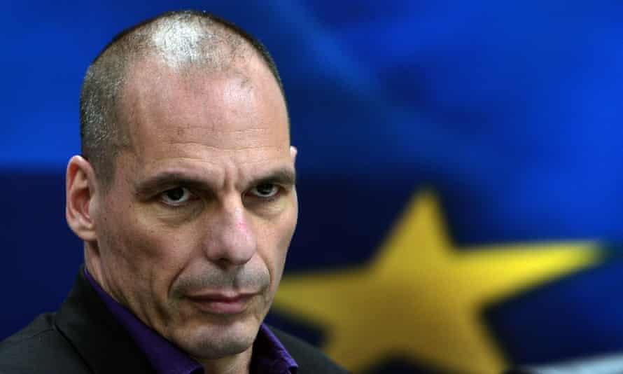 Former Greek finance minister Yanis Varoufakis.