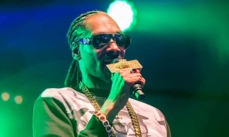 Snoop Dogg performing in Uppsala, Sweden, before he was arrested.